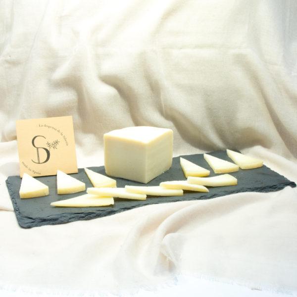 queso cabra cuartos